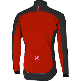 Castelli Mortirolo 4 Jacket Men red/black